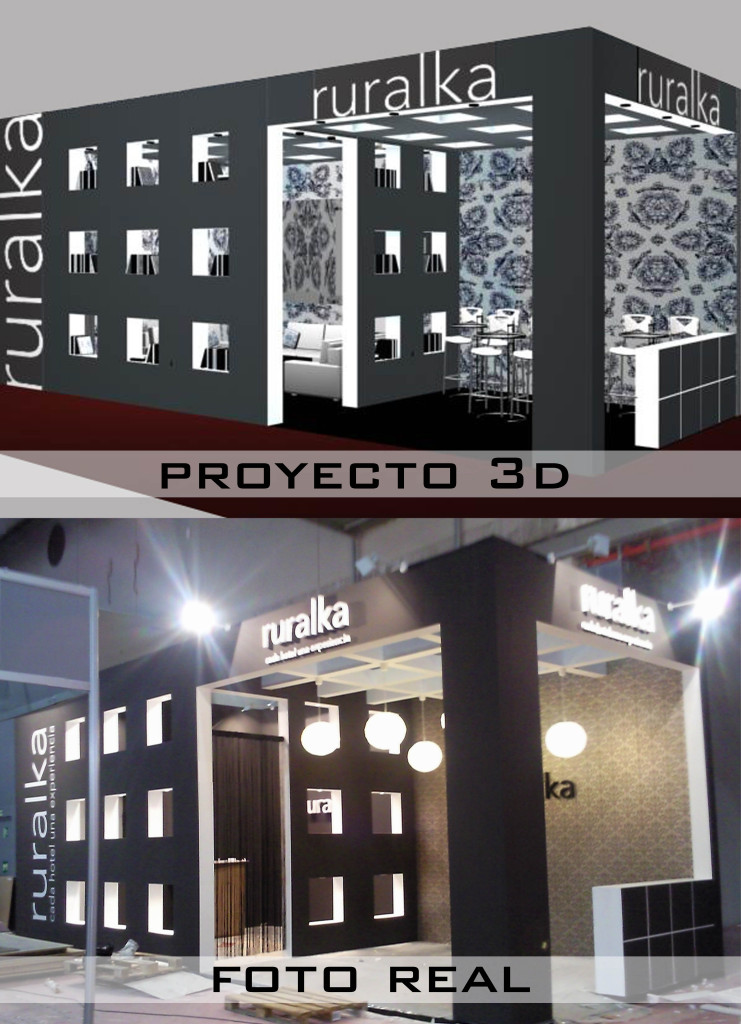 3D FOTO REAL stand FITUR